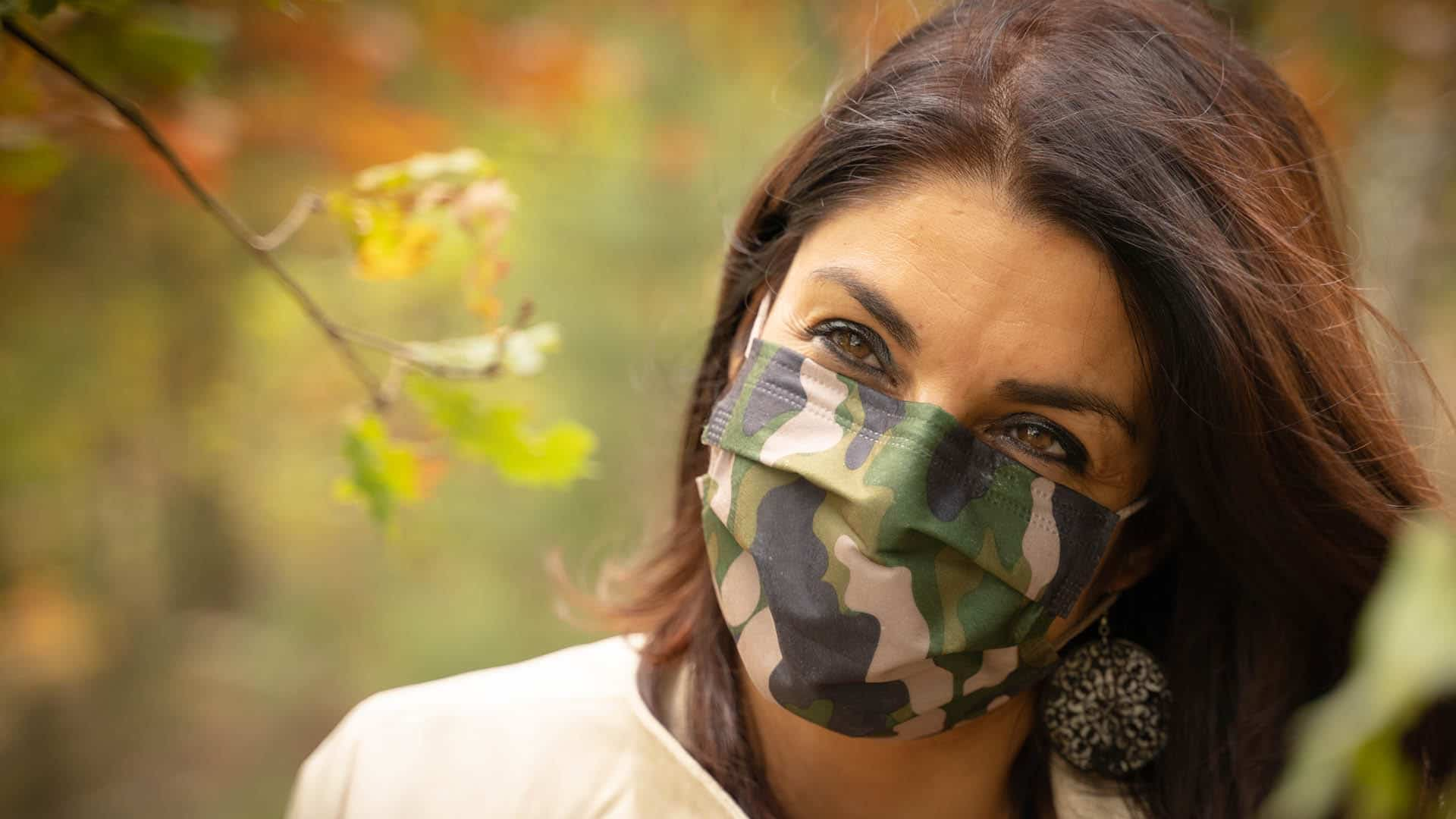 Illocare mondmasker combat green